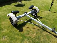 Snipe Boat/Dinghy Trailer - Currently fitted for Mirror but can be adjusted.