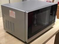 Sharp R372SLM Silver Microwave