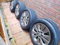 Toyota Alloy Wheels 17inch X 4