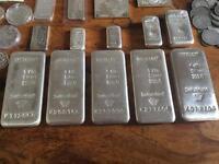 Silver bullion collection