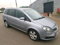 2007 VAUXHALL ZAFIRA 1.6 ENERGY 5 DOOR HATCHBACK SILVER 7 SEATER
