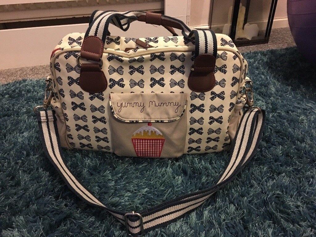 Yummy Mummy Pink Lining bag