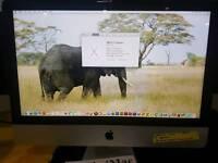 "Apple iMac 21.5"" 2.7Ghz Slimline 8GB Ram 1TB hard drive late 2012"
