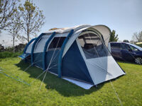 Decathlon Inflatable Camping Tent - Quechua Air Seconds 6.3 XL F&B - 6 People - 3 Bedrooms