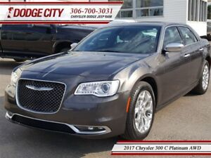 2017 Chrysler 300 C Platinum | AWD - Heated Leather, Remote Star