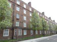Two bed flat, separate lounge, fitted kitchen, close to Old Kent Road, buses and shops
