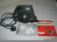 BLACK & DECKER CIRCULAR SAW CD 600T