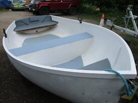 REDUCED 10ft3 grp dinghy