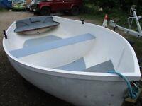 10ft3 grp dinghy