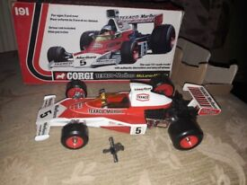 1973 Corgi Formula 1 Cars (models 191 and 190)