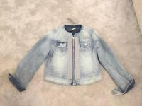 BNWT NEXT GIRLS DENIM JACKET SIZE 8YRS