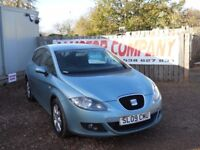 SEAT LEON 2009 1.9 LTR TDI TURBO DIESEL SERVICE HISTORY 1 YEAR FRESH MOT WARRANTIED CLEAN CAR!!!