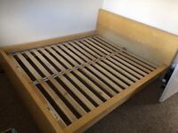 King sized IKEA bed