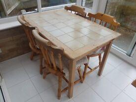 Table & Chairs - Rustic / Farmhouse