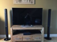 Sony 3D tv with 5.1 cinema system & Free Speaker stands!!!
