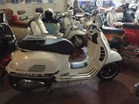VESPA GTS CHOICE OF 3 FROM £3295