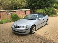 SAAB 93 Convertible 2006 2 owners, low mileage,