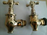 Bath taps brass