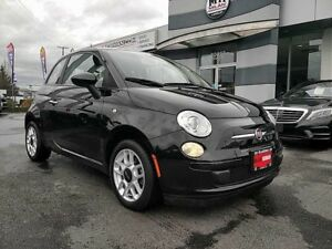 2013 Fiat 500 Pop Sport Manual Loaded Only 41,000Km