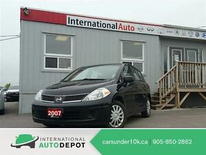 2007 Nissan Versa 1.8S | PWR GRP | FUEL EFFICIENT