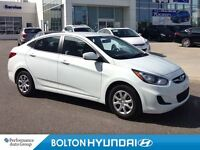 2014 Hyundai Accent A/C CD One Owner Clean Carproof Low Km's