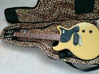 Gibson USA Les Paul Junior Double Cut (TV Yellow) Billie Joe Armstrong