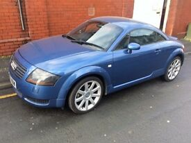 AUDI TT 225 BHP******* LOTS OF NEW PARTS*****