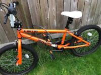 Orange x rated bike