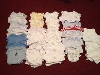 Baby bodysuits - over 30 items - £18 - Unisex & Boys