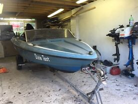 Project speed boat