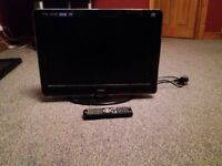 Teac digital tv with freeview and built in dvd