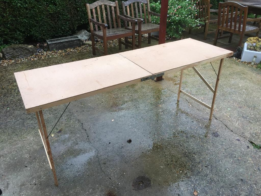 Car boot table