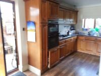 Kitchen Solid Chestnut doors complete kitchen units and accessories