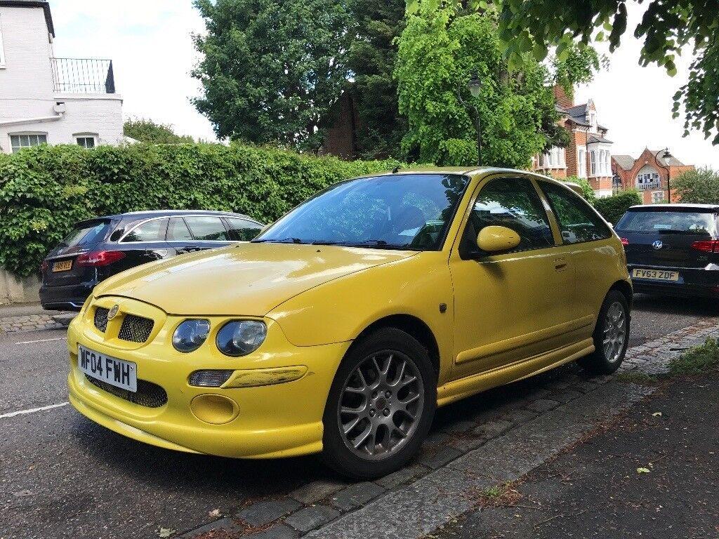 MG ZR 1.4 Yellow 3-Door Hatch, 82k miles & 1 year's MOT