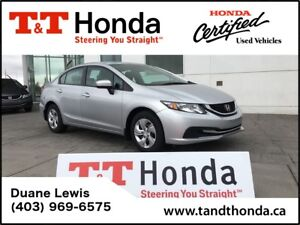 2014 Honda Civic LX* Low KMs, One Owner, Heated Seats*