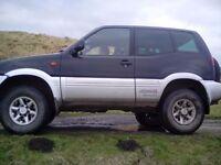 Nissan terrano 2.7td ,off road,swb,