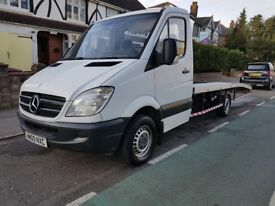 2009 Mercedes Sprinter 315 Recovery Transporter Truck with AIR-CON