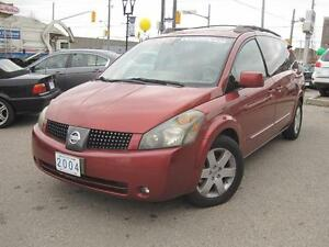 2004 NISSAN QUEST 3.5 SE | Leather • 5 Sunroofs •