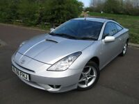 Toyota Celica 1.8 VVT-i 3dr ONLY 67k Full Toyota Service History & Leather