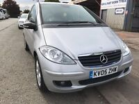 Fantastic Value 2005 Mercedes A Class 1.5 Petrol Classic SE 3 Dr Hatch Only 62000 Miles May 18 MOT