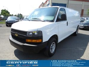 2019 Chevrolet EXPRESS CARGO 2500 CLIMATISATION, GROUPE COMMODIT