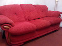 3 Piece Suite - Setee and two chairs