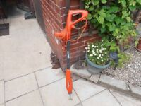 this electric hoe saves a lot of hard work and is ideal for hoeing hard ground