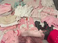 Baby girl 0-3 clothes