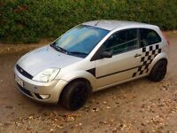 Ford Fiesta 1.4 Silver Limited Edition 3dr