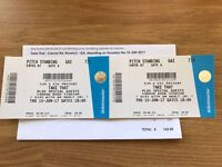 2 x Take That Tickets For Sale - Carrow Road, Norwich