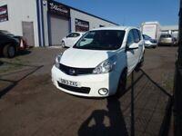 2013 Nissan Note 1.4 N-Tec 5 Door 129,000 Miles 1 Previous Owner £1995