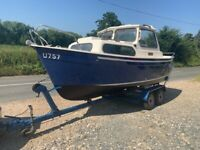 Hardy 18ft Navigator Cabin Cruiser/Boat
