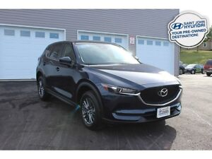 2018 Mazda CX-5 GS! LEATHER! SUNROOF! ALL WHEEL DRIVE!