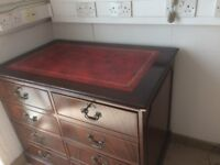 Reproduction Filing Cabinet Mahogany